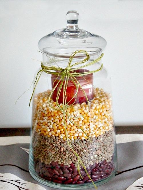 fall apothecary jar ideas