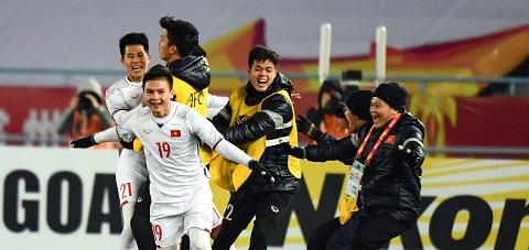 Cầu thủ Quang Hải là trụ cột U19 Việt Nam ở Đông Nam Á