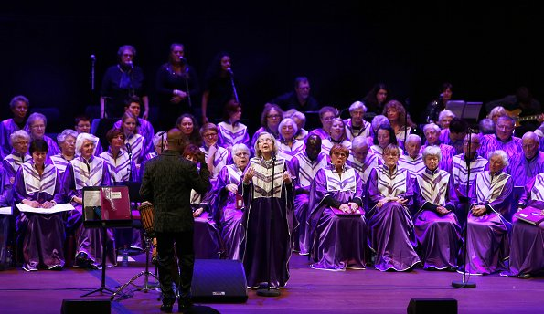 Gospel and Friends concert held by EME Foundation at Philharmonie Luxembourg Concert Hall