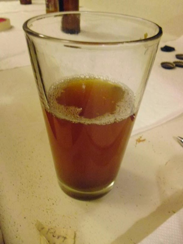 A sample of beer