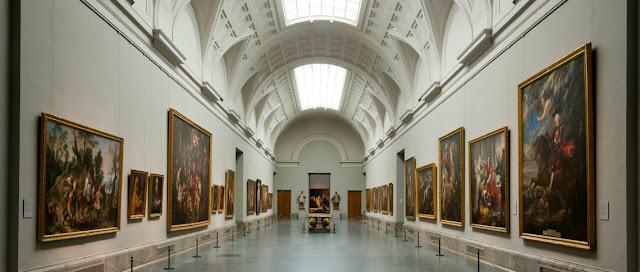 Museo del Prado. Galería central