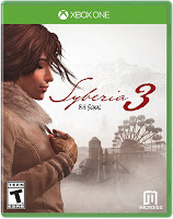 Syberia 3 Game Cover Xbox One