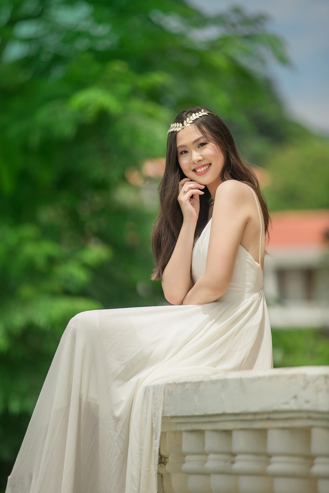 Mom-About-Town: Confidently beautiful with a heart at 18