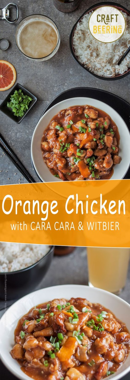 WITBIER ORANGE CHICKEN