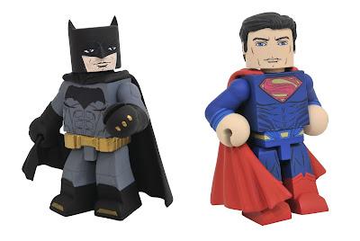 Justice League Movie Vinimates Vinyl Figures by Diamond Select Toys x DC Comics - Batman & Superman