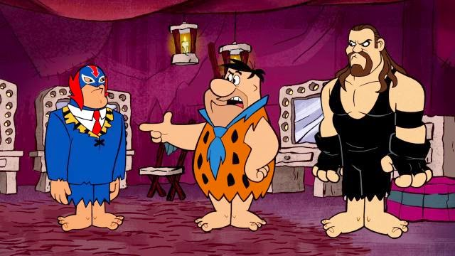 the flintstones and wwe stone age smackdown 2015 ������