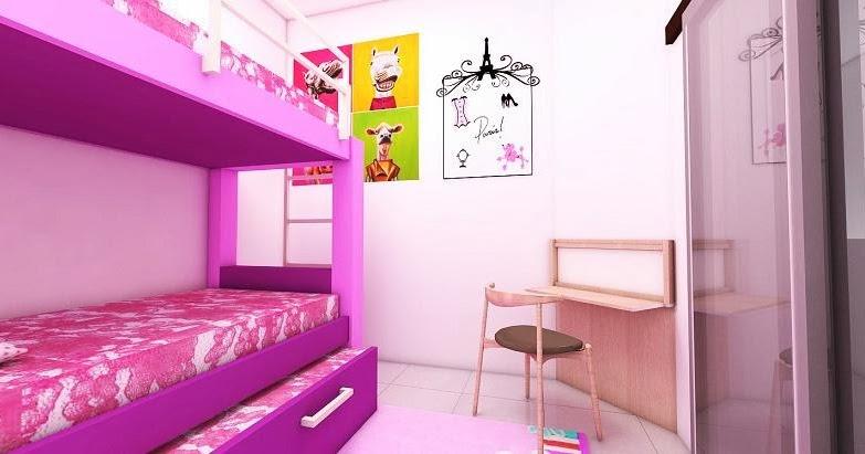 Jasa Desain Gambar Murah: Desain Interior Keren Warna Pink ...