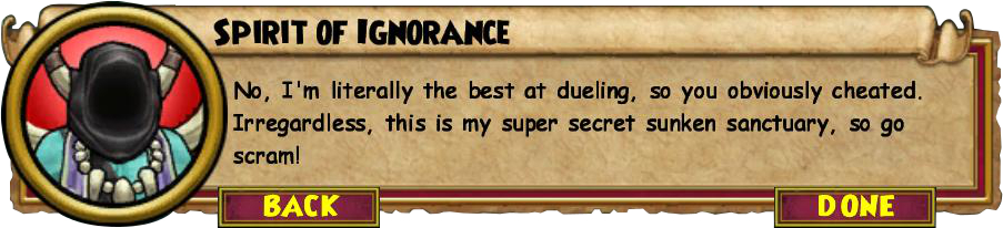Wizard101 Skeleton Key Boss Guide - Spirit of Ignorance