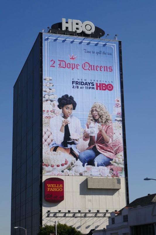 Giant 2 Dope Queens season 2 billboard