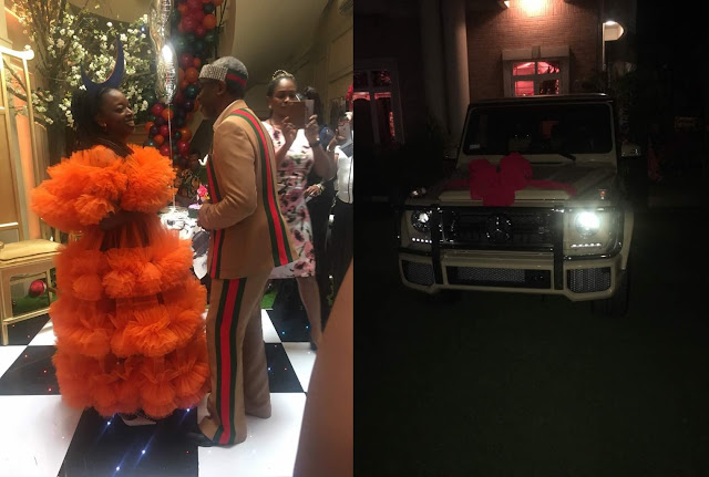 Hon. Femi Gbajabiamila Gifts Wife Brand New N38M G-Wagon