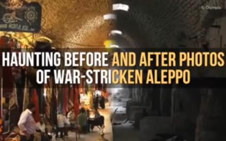 Sedih! Ternyata Aleppo yang Sekarang, Jauh Berbeda Dari yang Sebelumnya