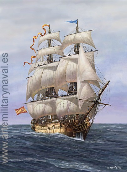 Fragata Siglo XVIII