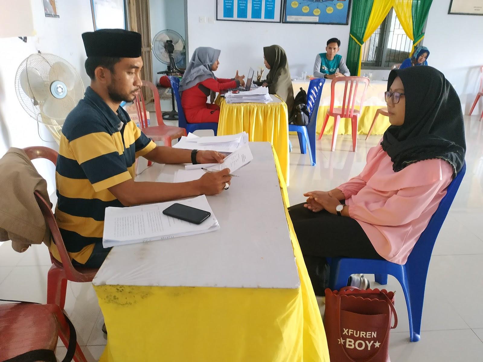 Sukseskan Pemilu 2019, PPS Kelurahan Biru Akan Rekrut 175 Orang KPPS