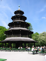Chinesischer Turm im Englischen Garten München