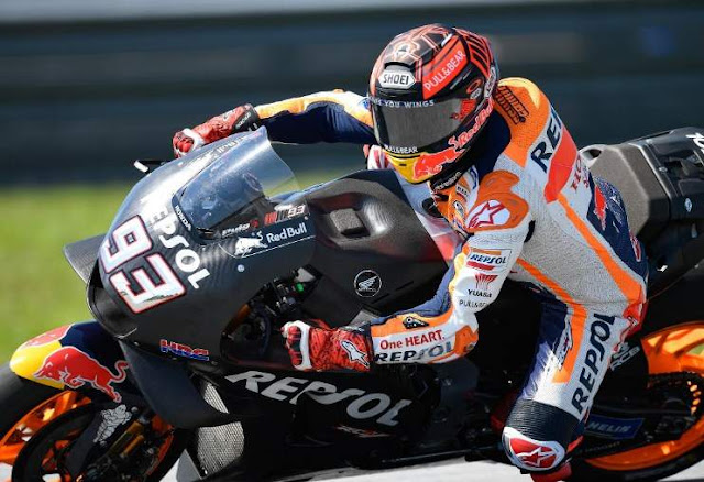 Marc Marquez Sepang Test 2019 day 1
