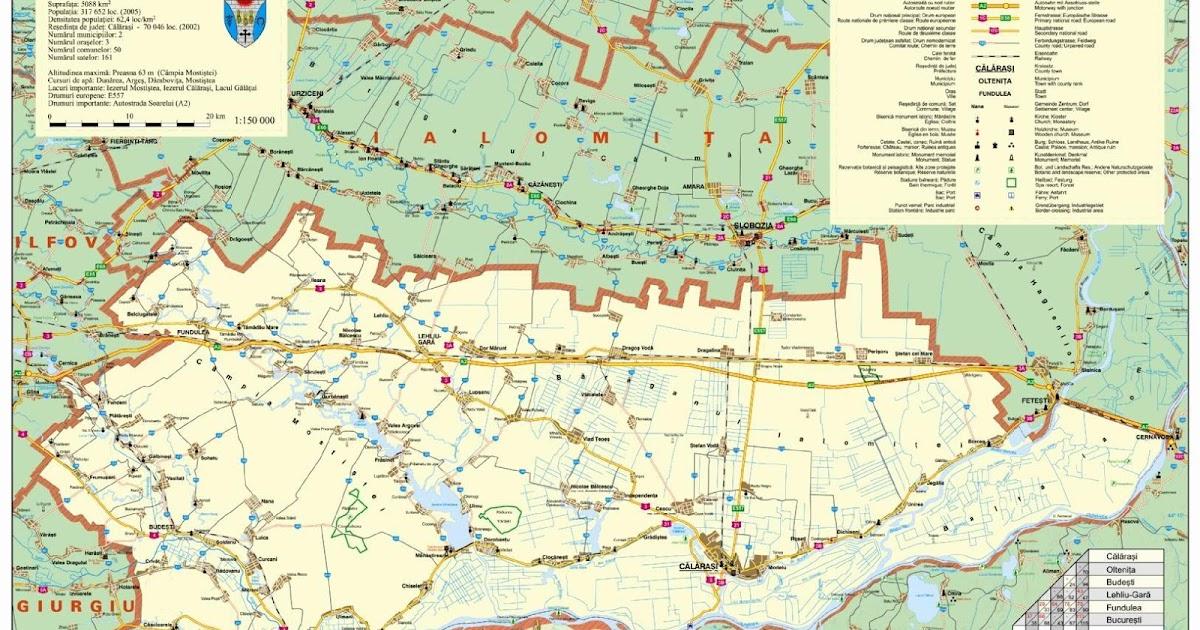 Romania Live Calarasi Oltenita Live Webcam Harta Rutiera Calarasi