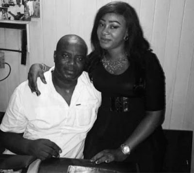 Lanre Gentry, Mercy Aigbe's hubby, gets new lover