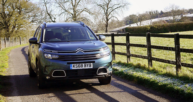 Citroen C5 Aircross front face