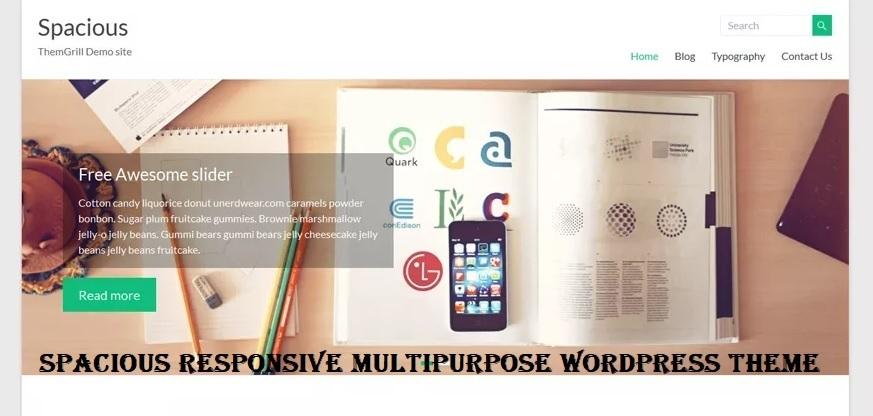 Spacious Responsive Multipurpose WordPress Theme