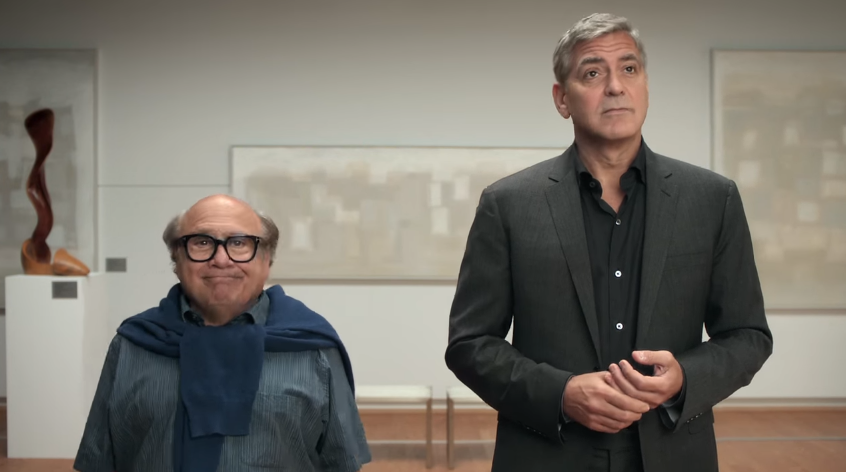 Danny devito wants in on nespresso with george clooney in new danny devito wants in on nespresso with george clooney in new commercial training mozeypictures Gallery