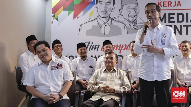 Poros Prabowo-Sandi Sebut Etika Jokowi Rendah