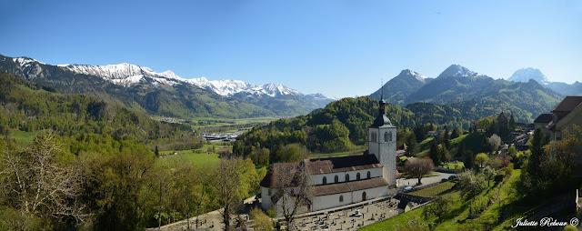 Eglise de Gruyères, Suisse