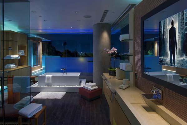 Foto Desain Kamar Mandi Hotel Minimalis Yang Cantik