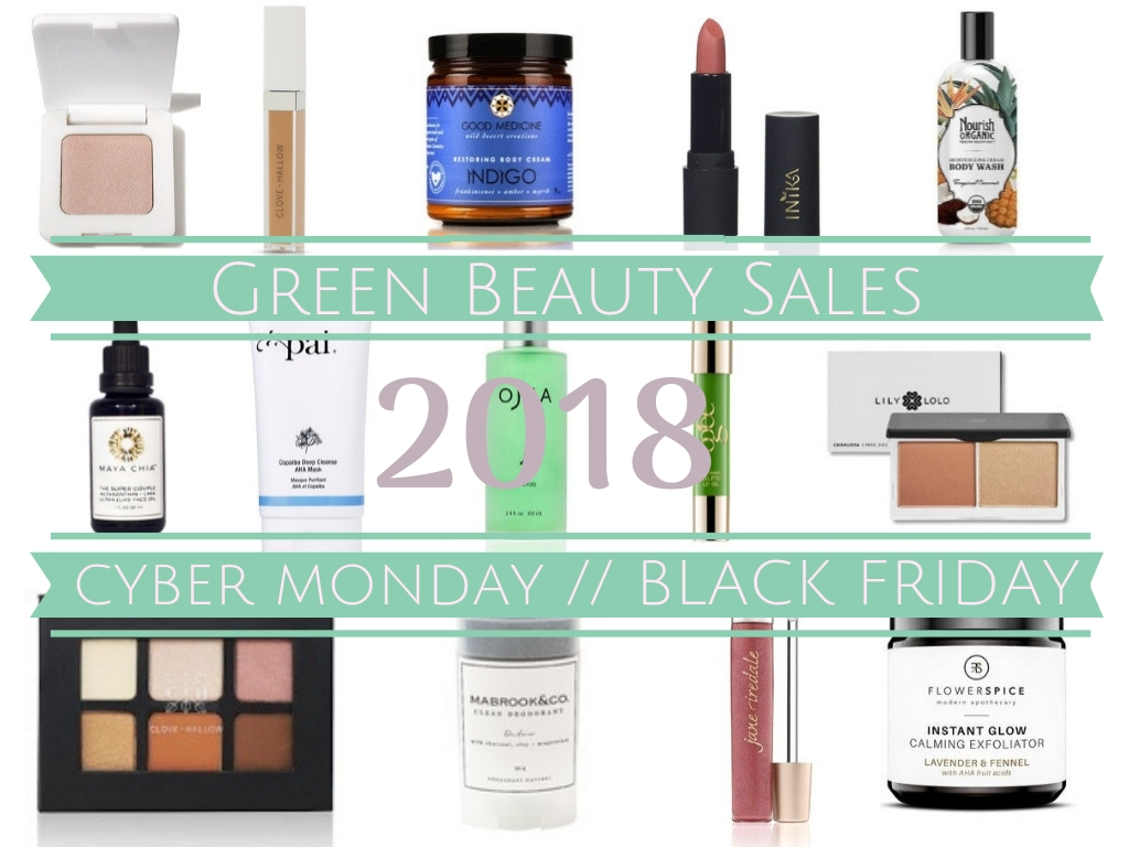 This Week's BEST Green Beauty Sales (Black Friday/Cyber