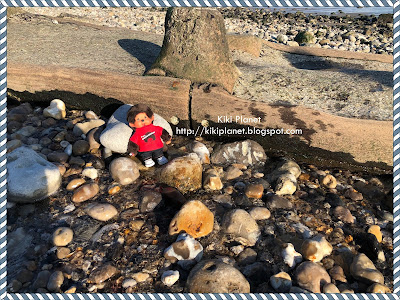 kiki monchhichi plage galets le havre normandie toyslife