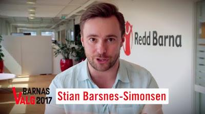 Klikk for å se Redd Barnas video om Barnas Valg 2017