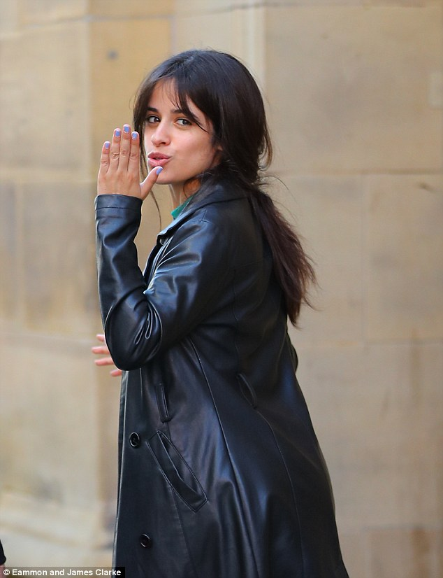 Camila Cabello spotted looking casually chic ahead of her performances in Manchester