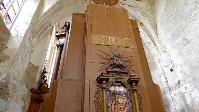 Gotikinė presbiterija Vilniaus bernardinų bažnyčioje