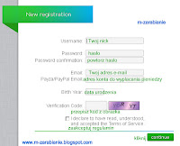 Neobux — rejestracja