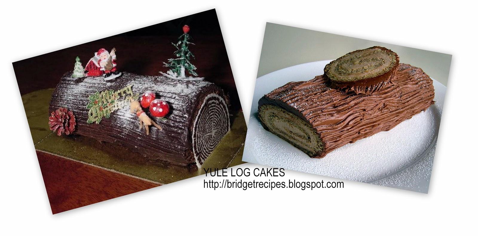 Christmas Chocolate Log Cake Recipe