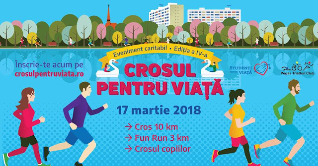 Crosul pentru Viata 2018. Eveniment caritabil. Bucuresti. Parcul Alexandru Ioan Cuza