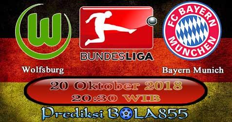 Prediksi Bola855 Wolfsburg vs Bayern Munich 20 Oktober 2018