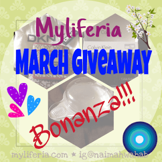 Myliferia March Giveaway