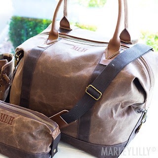personalized gift idea for him - weekend bag