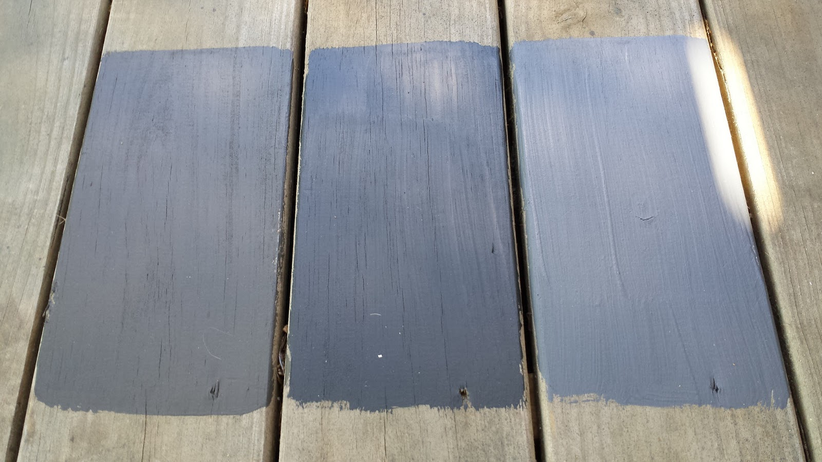 Focal Point Styling Before After Black Slate Stain
