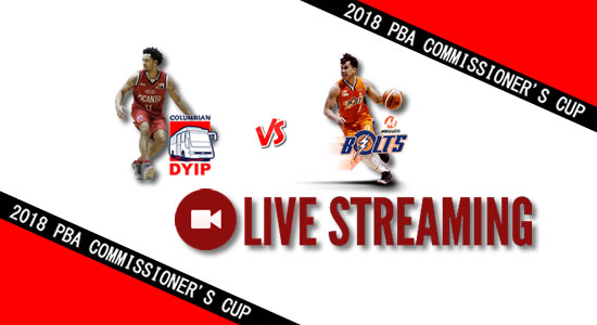 Livestream List: Columbian vs Meralco April 25, 2018 PBA Commissioner's Cup