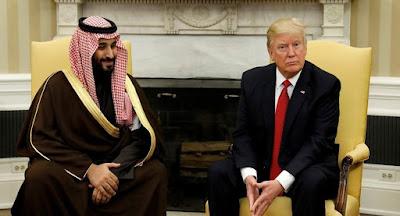 نار وغضب داخل بيت ترامب الأبيض وانقلابا بالسعودية