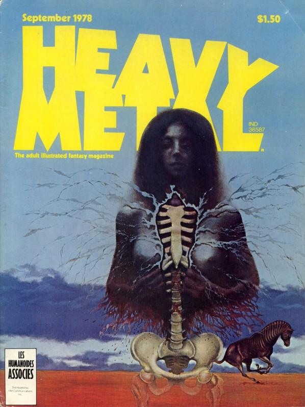 Diagram Heavy Metal Taarna Production Cel Setup Columbia 1981