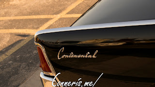 Lincoln Continental Rear fender badge