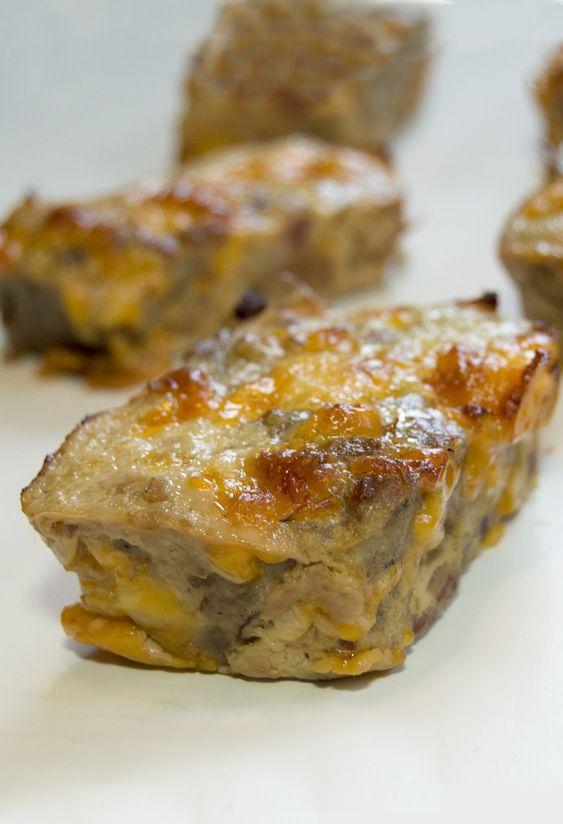 Mini Keto Breakfast Meatloafs - Low Carb/Gluten-Free