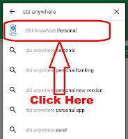sbi anywhere personal registration process