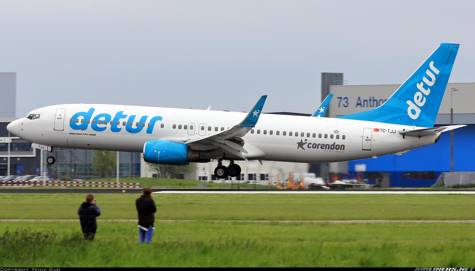 Orta mesafelerde hava yolu trafiği için Boeing 737-800 gemisi 3