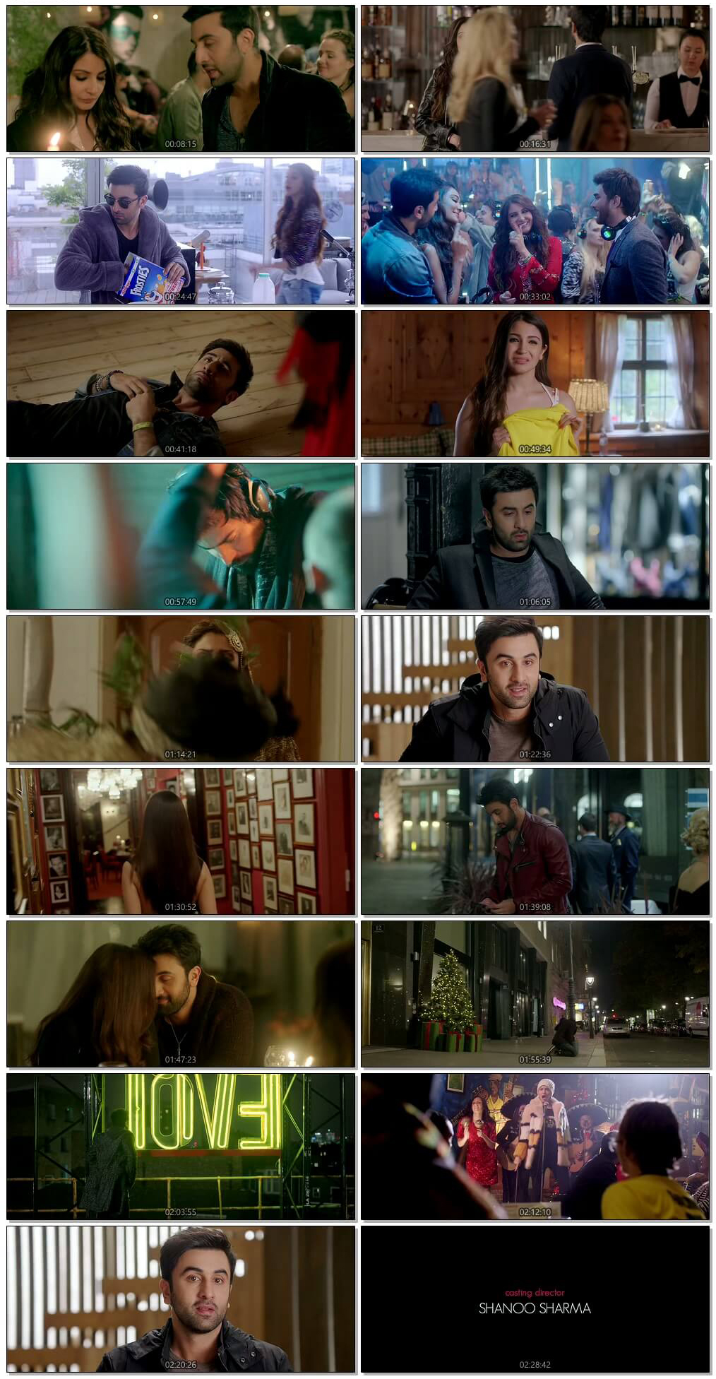 Screen Shot Of Ae Dil Hai Mushkil  2016 Full Movie Free Download HD 720P Watch Online