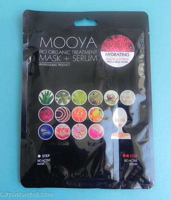 mascarilla y serum mooya