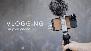15 Tips Membuat Vlog Dengan Smartphone Android