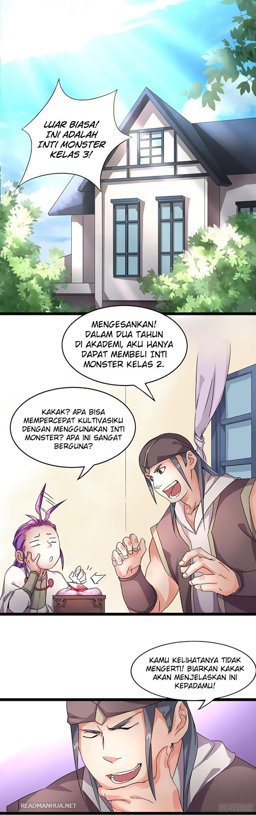 Chaotic Sword God Chapter 6 Bahasa Indonesia